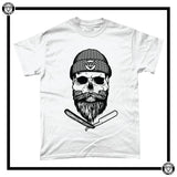 Cutthroat Bob Men's T-Shirt-T-Shirt-Reverence Clothing-White-Small-Reverence Clothing