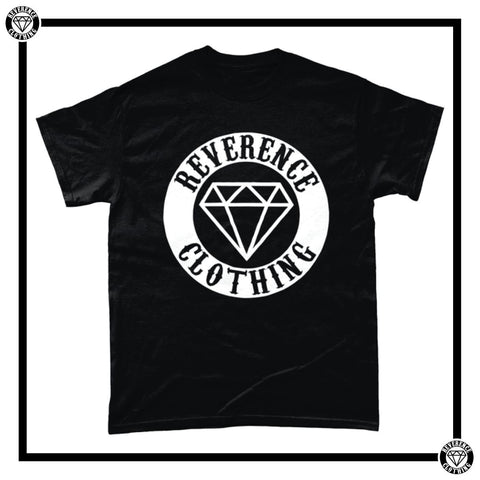Reverence Honour Badge Men's T-Shirt-T-Shirt-Reverence Clothing-Black-Small-Reverence Clothing
