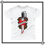 Love Hurts Men's T-Shirt-T-Shirt-Reverence Clothing-White-Small-Reverence Clothing