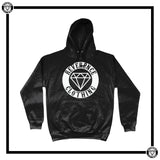 Reverence Honour Badge Hoodie-Hoodie-Reverence Clothing-Jet Black-X-Small-Reverence Clothing