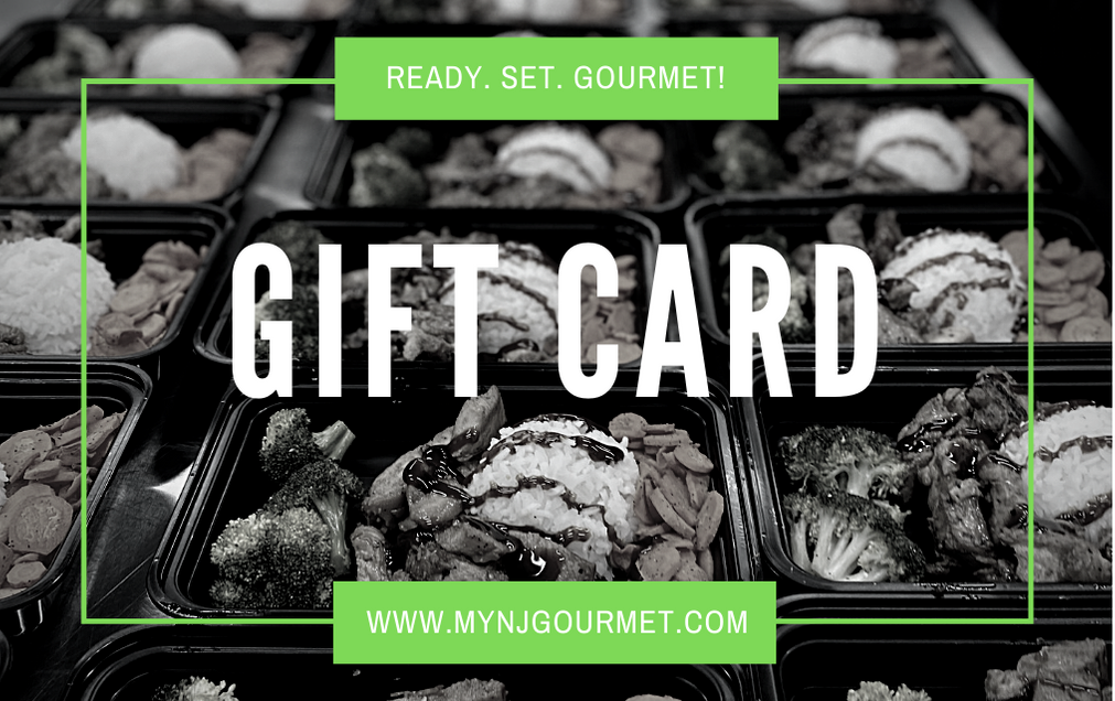 GIFT CARD - NJ Gourmet Meal Prep