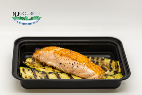 SIMPLY SALMON - NJ Gourmet Meal Prep