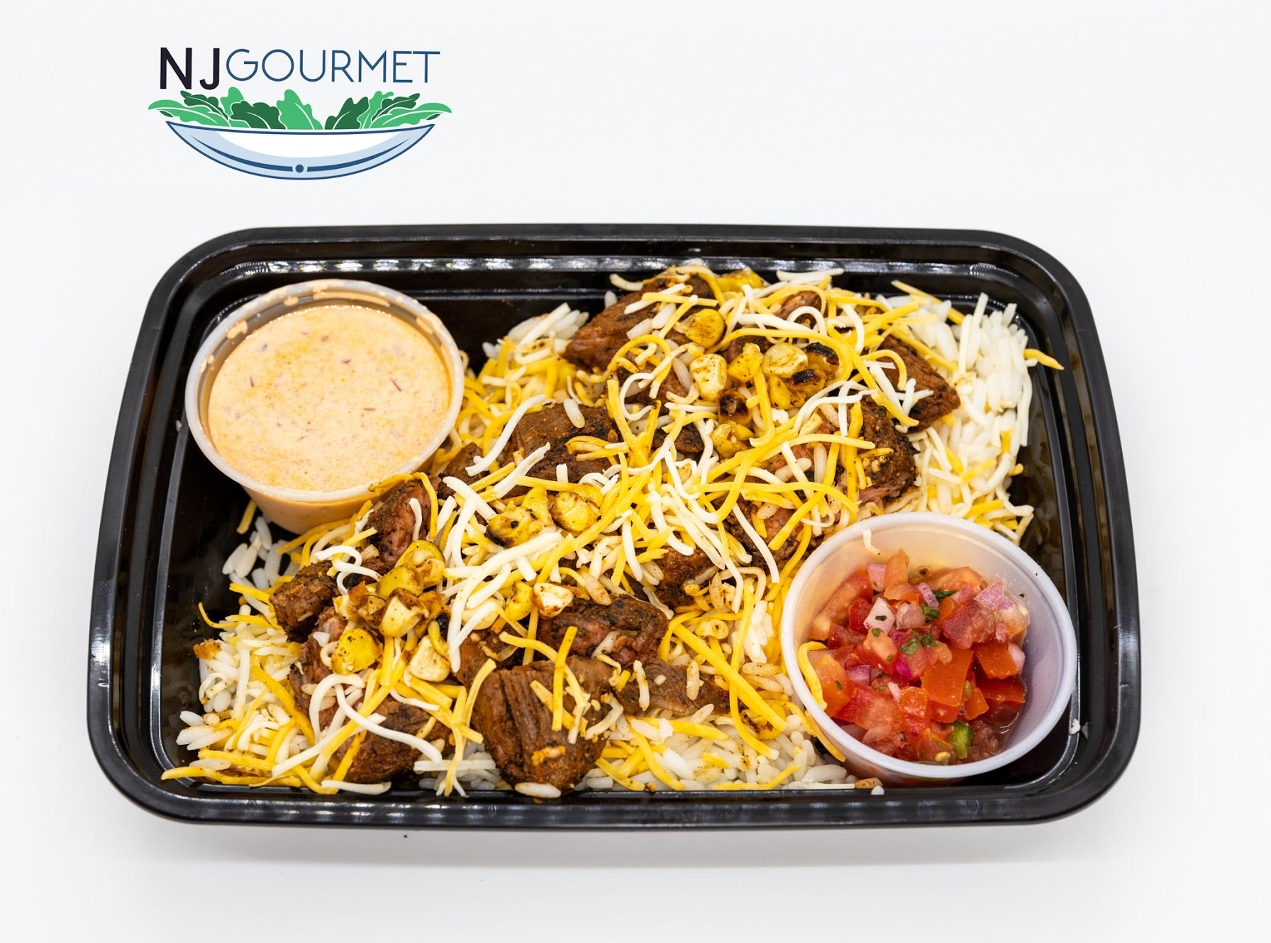 STEAK BURRITO BOWL - NJ Gourmet Meal Prep