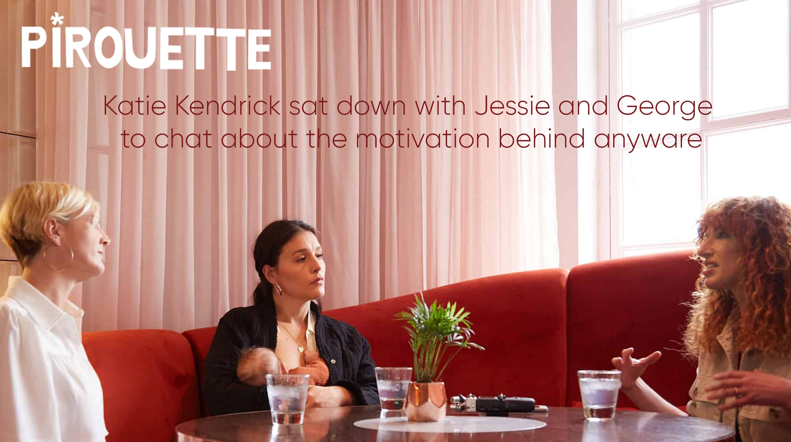 Pirouette journalist Katie Hendrick chats to Jessie and George