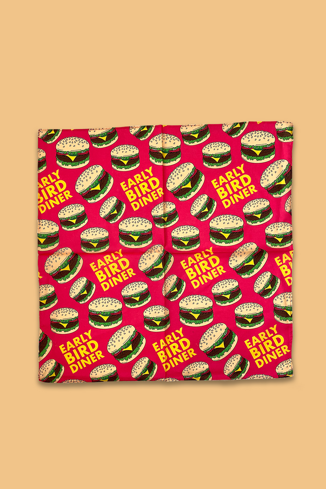 Early Bird Burger Bandana