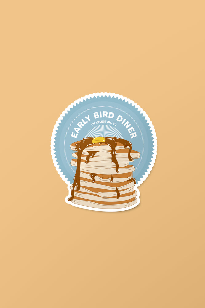 Stackin' Pancakes Sticker