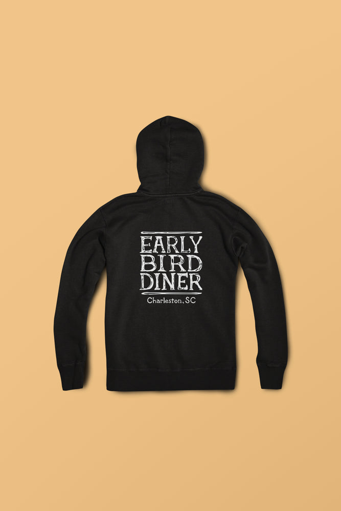 Classic Early Bird Diner Sweatshirt - Black