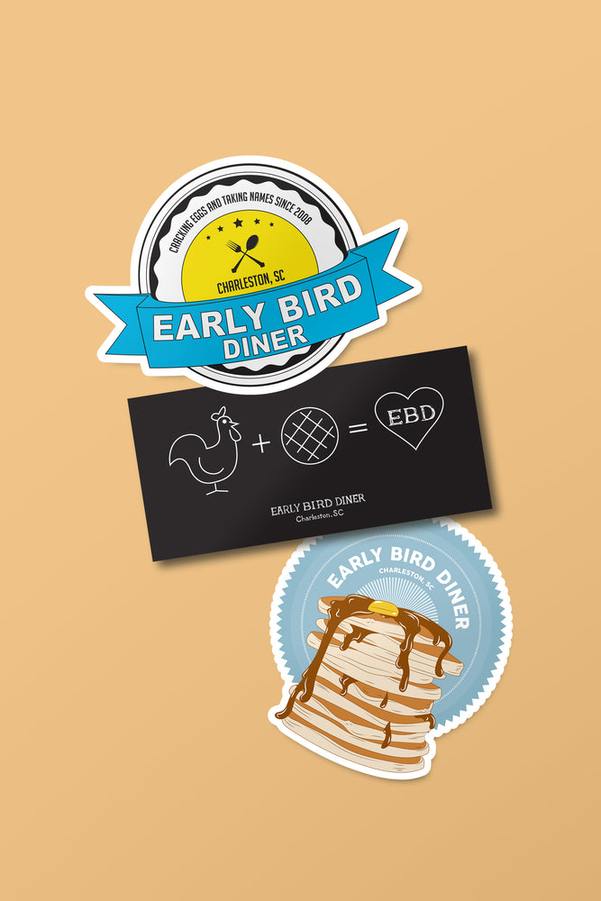 Early Bird Sticker Pack