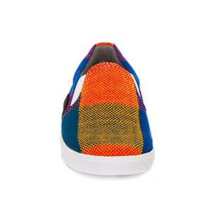 Xibany Original Canvas Slip-On Sneaker, Baby: Blue|Green|Orange