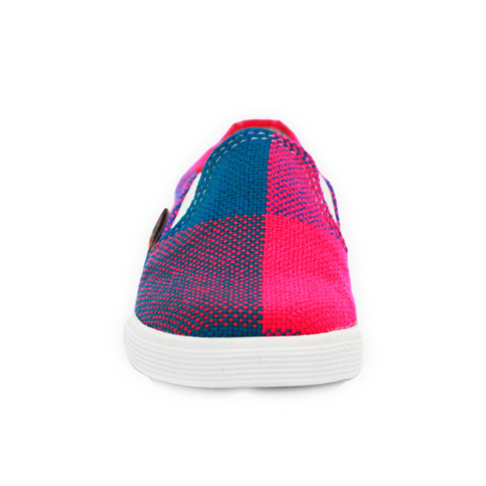 Xibany Original Canvas Slip-On Sneaker, Baby: Blue|Pink|Orange