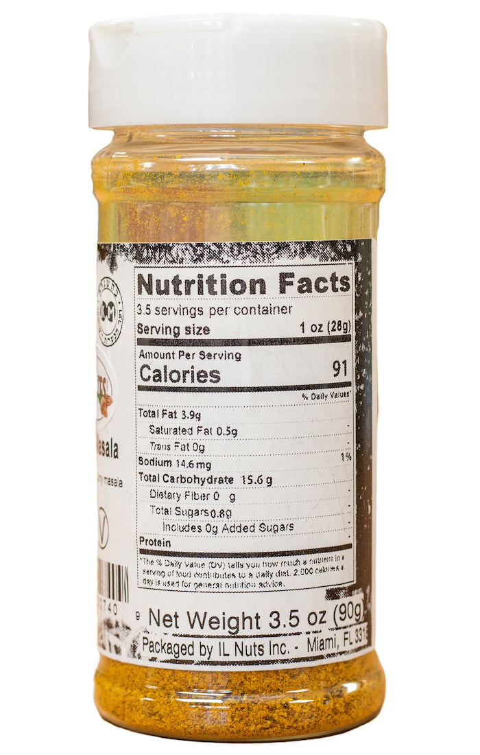 Curry Masala Nutrition Facts