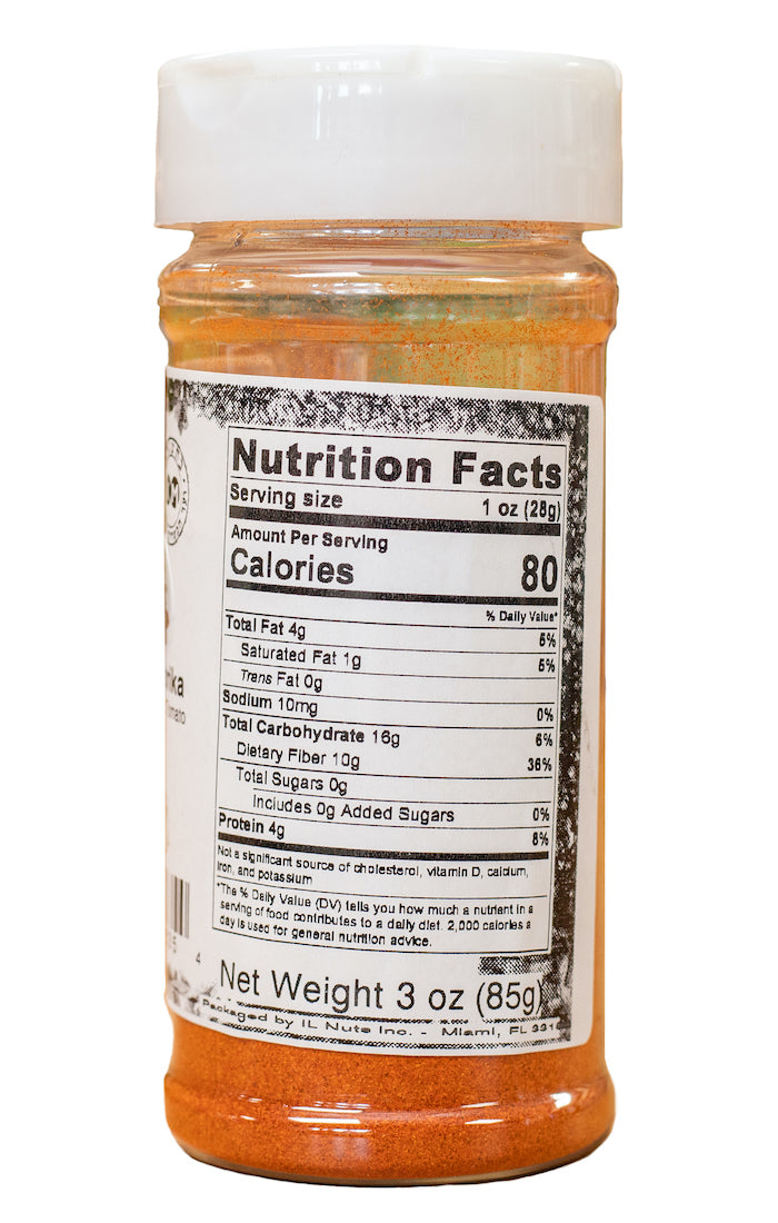 Sweet Paprika Nutrition Facts