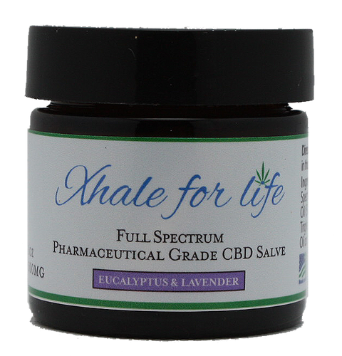 CBD Relief Balm with Lavender and Eucalyptus - 500MG - Xhale For Life