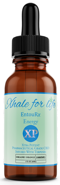 Xhale For Life EntouRx 1000MG Energy XP