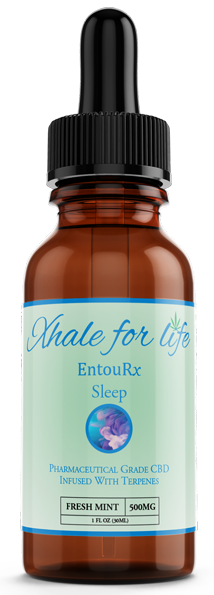 Xhale For Life EntouRx 500MG Sleep Fresh Mint