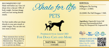 Load image into Gallery viewer, Xhale For Life  1000MG CBD For Pets