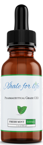 Xhale For Life  500MG CBD Fresh Mint Flavor