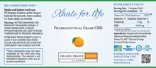 Load image into Gallery viewer, Xhale For Life  500MG CBD Orange Flavor