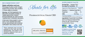 Xhale For Life  500MG CBD Orange Flavor