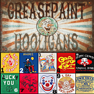 Greasepaint Hooligans (Build your own clown)