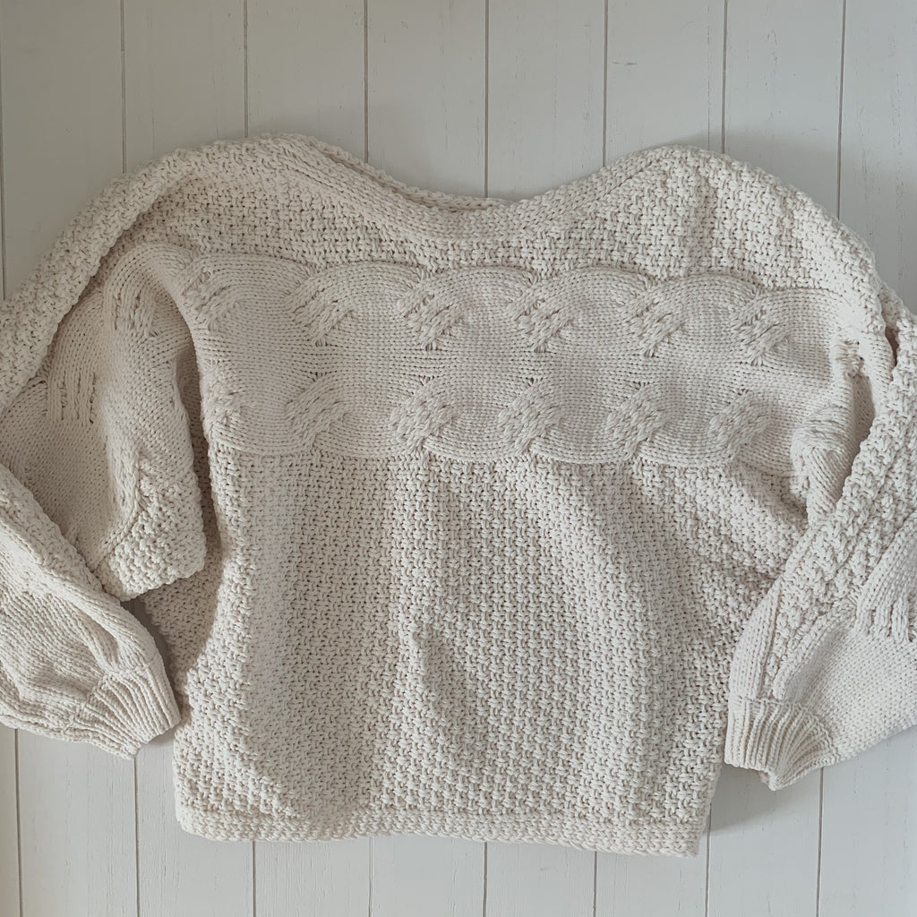 Get Cozy Sweater - Ivory