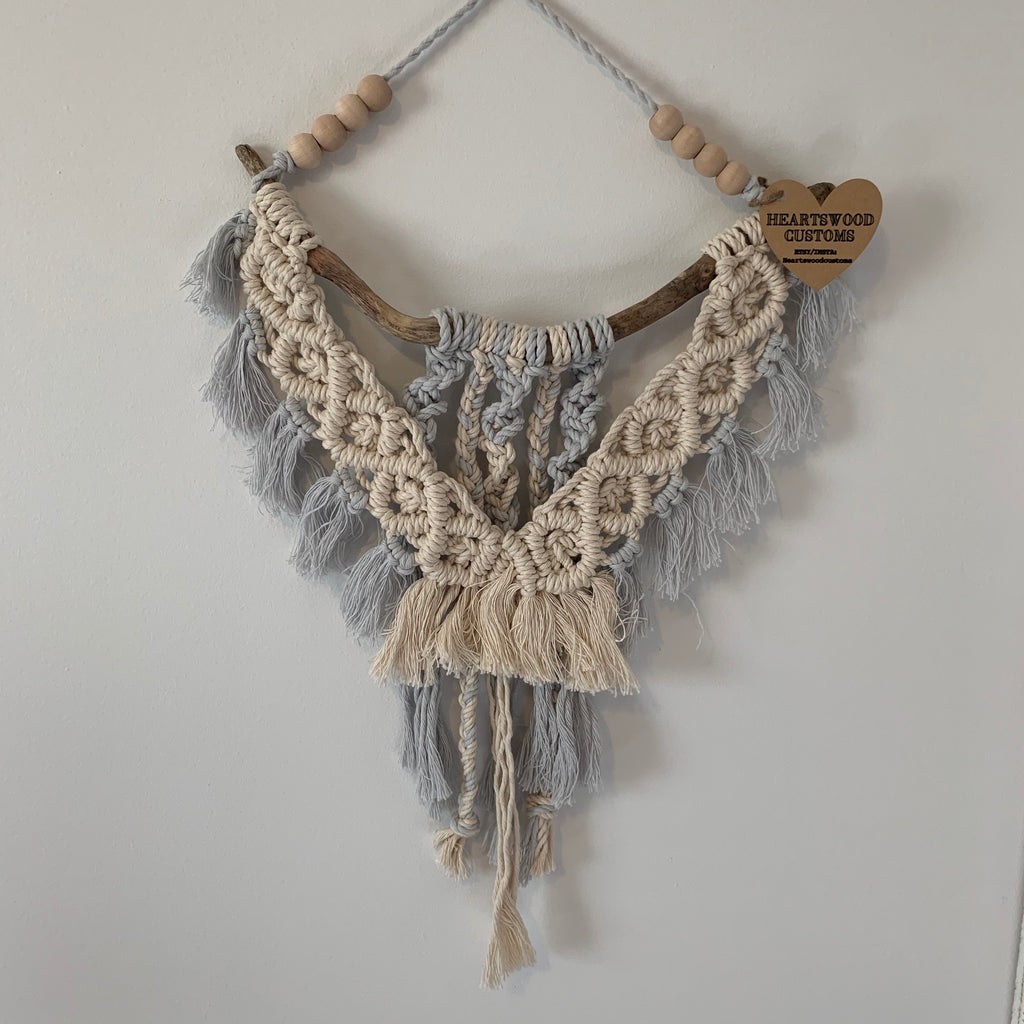 Neutral Blue Hanging