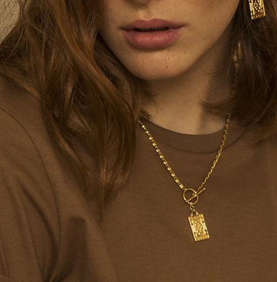 Damien Necklace - Gold