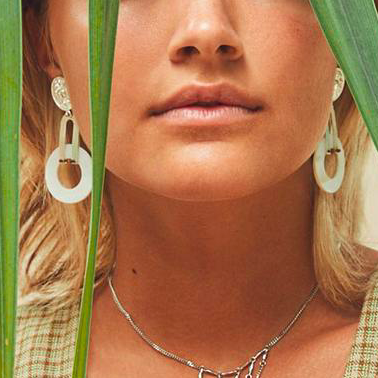Akumal Earrings - Silver