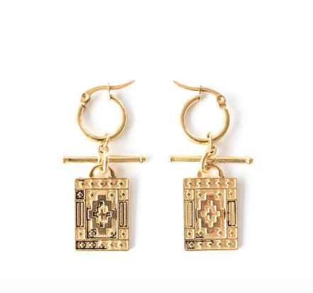 Navi Earrings - Gold
