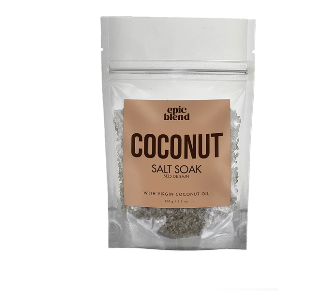 Coconut Salt Soak - Small