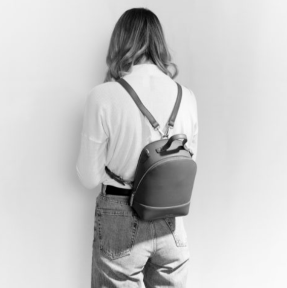 Small Cora Backpack - Dark Oak