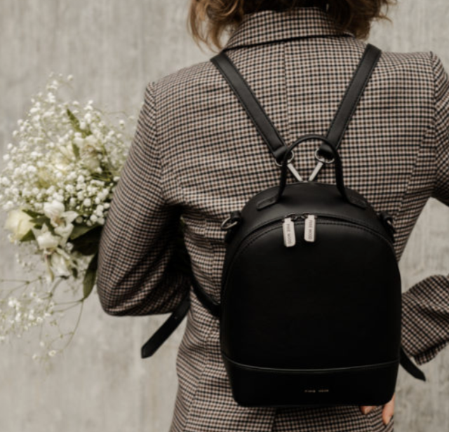 Small Cora Backpack - Black