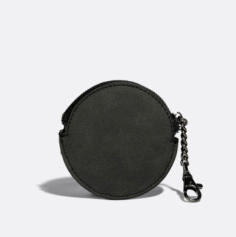 Monica Coin Pouch - Black/Nubuck