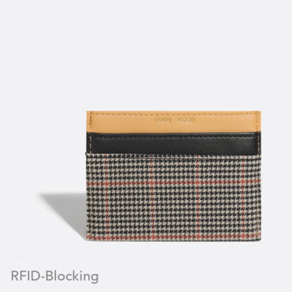Alex Card Holder - Tartan
