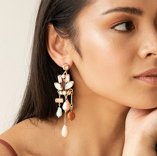 Pietra Statement Earrings