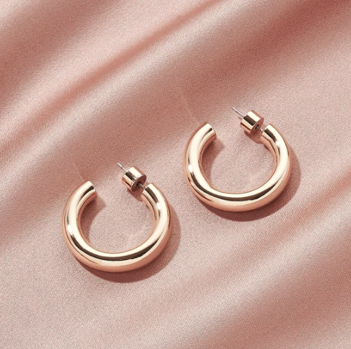 Golden Icon Hoops