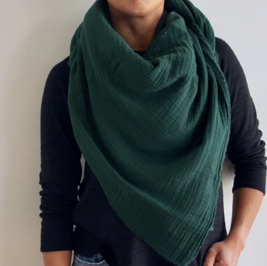 Hunter - Gauze Blanket Scarf