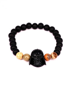 Mask Beads Charm bracelet for men women