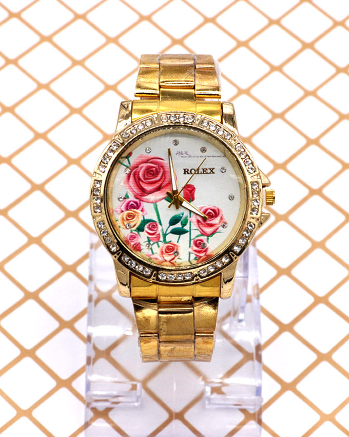 Golden chain Stylish Women's Watch