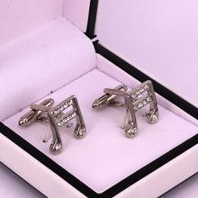 Load image into Gallery viewer, Music style men cufflinks