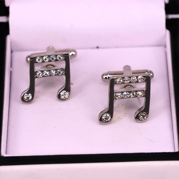 Music style men cufflinks