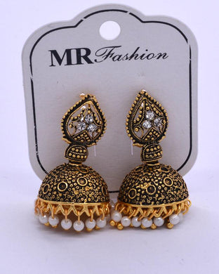 Traditional Indian women's Jhumki