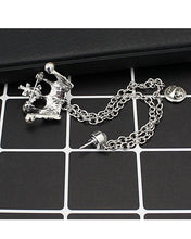 Load image into Gallery viewer, Crown brooch lapel pin coat pin for men women in silver golden