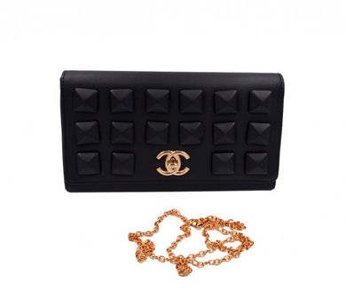 Women Fashion clutch bag in black color