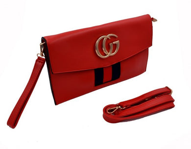 GC Fashion women Clutch bag in Red color