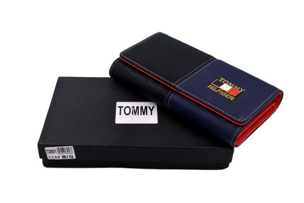 Tommy Blue and black Fashion wallet for women
