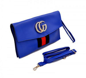 GC Fashion women Clutch bag in blue color