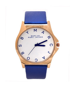 Stylish watch for men red, black, blue and yellow