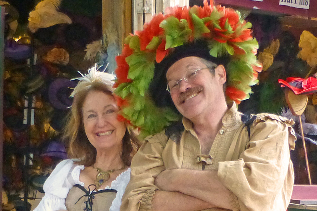 About the Artists: Debra Hathaway and Eric Heath, the Heathaways of Dragon Wings LLC