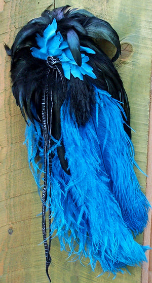 Large Feather Barrette